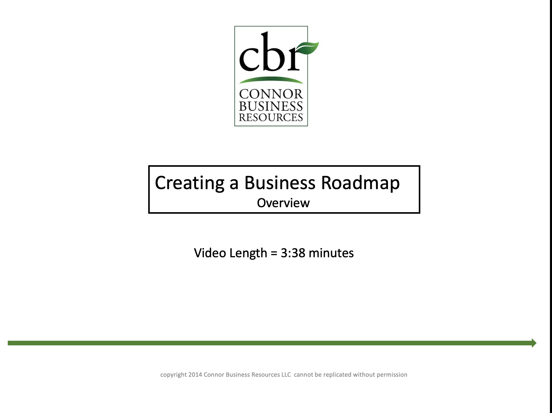 Strategic Planning (Business Roadmap) Overview